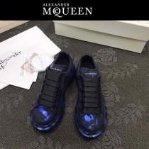 MQ麥昆-02  第三代原單正品ALEXANDER MQUEEN麥昆小白鞋情侶款塗鴉