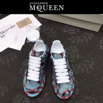 MQ麥昆-08  第三代原單正品ALEXANDER MQUEEN麥昆小白鞋情侶款塗鴉