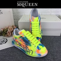 MQ麥昆-02 第三代原單正品ALEXANDER MQUEEN麥昆小白鞋情侶款夜光版