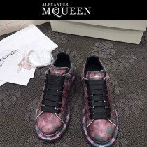 MQ麥昆-03  第三代原單正品ALEXANDER MQUEEN麥昆小白鞋情侶款塗鴉
