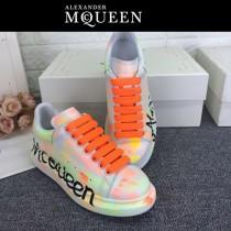 MQ麥昆-03 第三代原單正品ALEXANDER MQUEEN麥昆小白鞋情侶款夜光版