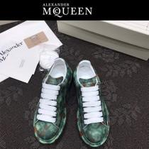 MQ麥昆-09  第三代原單正品ALEXANDER MQUEEN麥昆小白鞋情侶款塗鴉