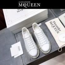 MQ麥昆-01  氣墊款第三代原單正品ALEXANDER MQUEEN麥昆小白鞋情侶款