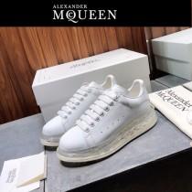MQ麥昆-017  氣墊款第三代原單正品ALEXANDER MQUEEN麥昆小白鞋情侶款