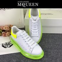 MQ麥昆-012  氣墊款第三代原單正品ALEXANDER MQUEEN麥昆小白鞋情侶款