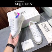 MQ麥昆-06  氣墊款第三代原單正品ALEXANDER MQUEEN麥昆小白鞋情侶款