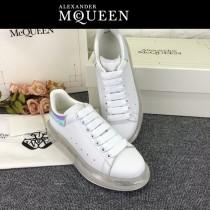 MQ麥昆-015  氣墊款第三代原單正品ALEXANDER MQUEEN麥昆小白鞋情侶款
