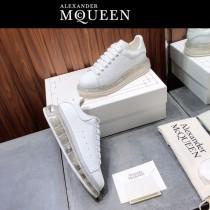 MQ麥昆-02  氣墊款第三代原單正品ALEXANDER MQUEEN麥昆小白鞋情侶款