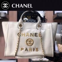Chanel-01  最新購物袋 進口香油臘牛皮