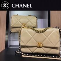 Chanel-011  最新19BAG 枕頭包