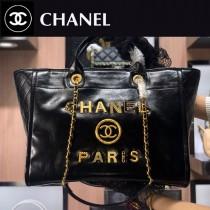 Chanel-02  最新購物袋 進口香油臘牛皮