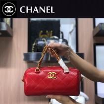 Chanel-03 新款手提包保齡球包