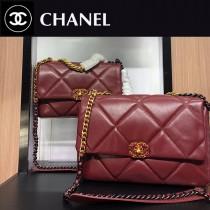 Chanel-012  最新19BAG 枕頭包