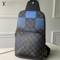 LV N40403-01  原版皮馬賽克  Avenue 單肩包胸包