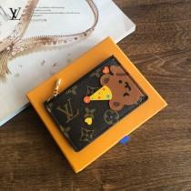 LV新款-01  LOUIS VUITTON 小熊卡包零錢包