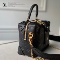 LV M45393-01 原版皮全皮壓花Petite Malle Souple 手袋