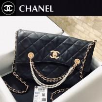 CHANEL 2213 香奈兒原版皮秋冬限量版珍珠購物袋