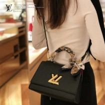 LV m57093 57090-04   原版皮 TWIST ONE HANDLE 小號手袋