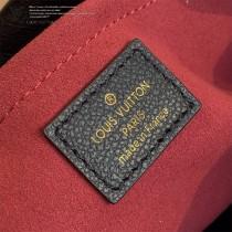 LV  原版皮 M41048-01 絲印中號 Montaigne 手袋蒙田包