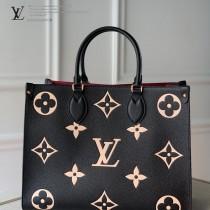 LV  M45494-02 原版皮ONTHEGO 中號手袋購物袋