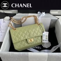 CHANEL 香奈兒原版皮中號最新 Chanel Reissue 秋冬季官方最新原廠進口胎牛方扣包