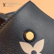 LV  原版皮 M41053-01  絲印迷妳款 Montaigne 手袋蒙田包