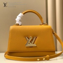 LV m57093 57090-01   原版皮 TWIST ONE HANDLE 小號手袋