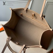 LV  M45494-01 原版皮ONTHEGO 中號手袋購物袋