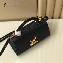 LV m57093 57090-04   原版皮 TWIST ONE HANDLE 小號手袋