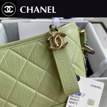 CHANEL 香奈兒原版皮新色Chanel Gabrielle 小號流浪包   20CM