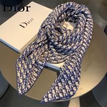 迪奧絲絨方巾