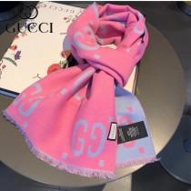 GUCCI專櫃最新款男女中性款長巾