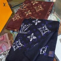 LV動物花紋長巾