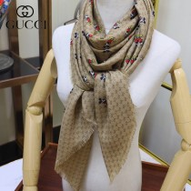 GUCCI迪斯尼聯名版頂級絲絨方巾