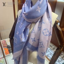 LV專櫃熱銷新款真絲羊絨圍巾