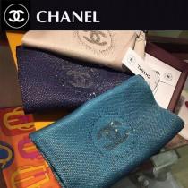Chanel奢華金線羊絨圍巾