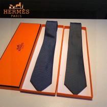 HERMES 男士新款領帶系列圓點領帶 100%頂級斜紋真絲手工定制 配包裝