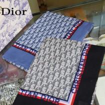 Dior專櫃同步上新D絲帶飾邊長巾