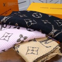 LV新款最新歐根紗提花毛線圍巾