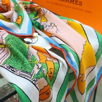 HERMES巴黎女孩愛馬仕專櫃爆款羊絨方巾