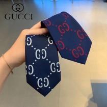 GUCCI互扣式雙G原單真絲2020男士領帶