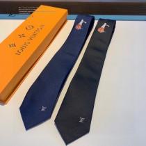 LV 原單真絲男士高端新款領帶 簡潔 大方