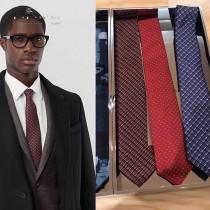 BURBERRY專櫃同步原單真絲領帶