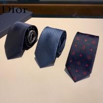 Dior迪奧原單真絲提花款新領帶