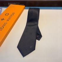 LV經典棋盤格子領帶 男士必備單品