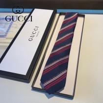 gucci男士頂級提花真絲領帶