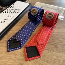 gucci男士老虎頭領帶