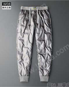 FENDI 芬迪 老佛爺 白鴨絨羽絨褲男士冬季外穿加絨加厚時尚輕薄戶外保暖壓膠棉褲