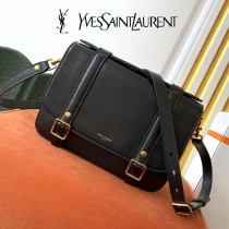 YSL 605418  原版皮聖羅蘭  Schoolbag肩帶包