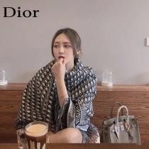 Dior迪奧明星同款千鳥格圍巾